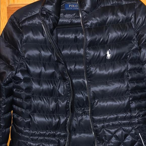 Polo by Ralph Lauren Jackets & Blazers - Polo Ralph Lauren Black winter Coat